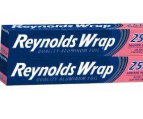 2 Pack - Reynolds Wrap Aluminum Foil, 25 sq ft