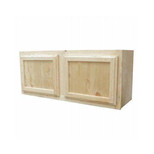 KAPAL W3615-PFP 36'' x 15'' Pine Wall Cabinet