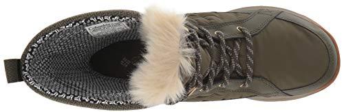 3D Meadows Columbia Mid Omni Calf Heat Nori Boot Pebble Women's Shorty nPxqq17XB