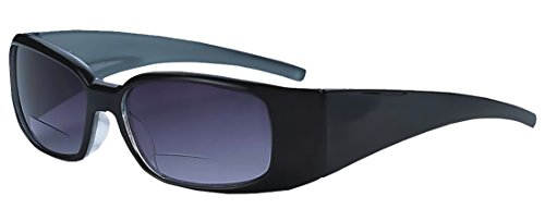 Rodeo ix6 New Freestyle Bi Focal Sports Wrap Reader Sunglasses (Slate, - Prescription Non Lightly Glasses Tinted