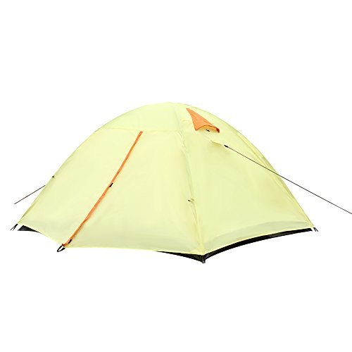 Le Papillon 3 Person Camping Tent Backpacking Tent with Carrying Bag
