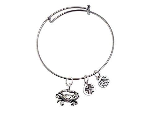 Crabe Argent Bracelet