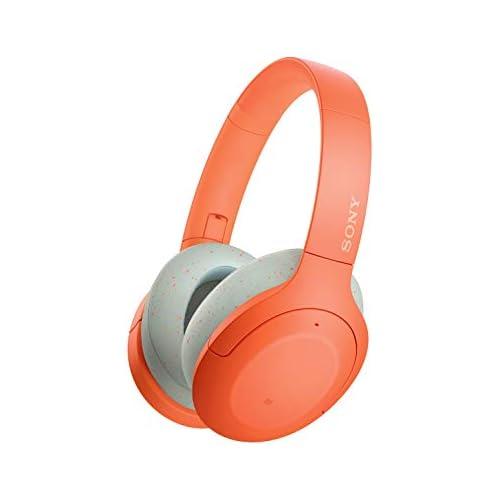 chollos oferta descuentos barato Sony WH H910N Auriculares inalámbricos Bluetooth Cancelación de Ruido LDAC hasta 35h de batería Hi Res Audio h Ear on Sonido adaptativo tecnología de Sensor de Ruido Dual DSEE HX Naranja