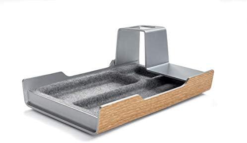 SIGEL SA400 Organizador de mesa de despacho, aspecto metálico y ...