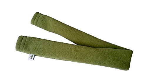 Image of Eco-Pup Recycled Pet Polyester Dog Harness Strap Cover, Medium/12, Olive Green
