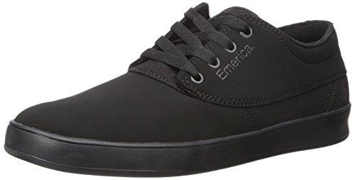 Emery Cap - Emerica Men's Emery Skate Shoe,black/black/black,9.5 Medium US