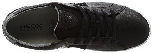Hombre B U Geox Zapatillas Smart para Negro Black 7qxa8gRw