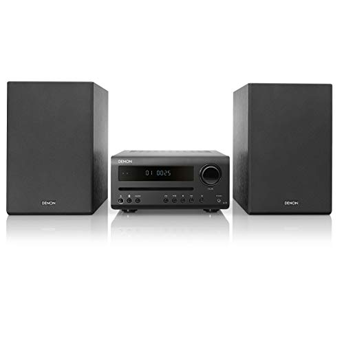 - Denon D-T1 Hi-Fi Mini System with CD and Bluetooth