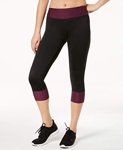 Ideology Womens Fitness Yoga Capri Pants Black M from Ideology