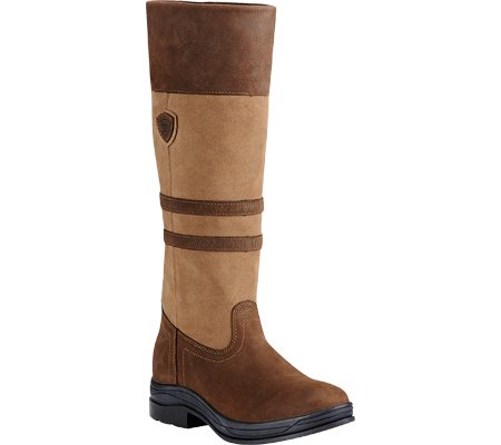 Stivali Ariat Da Donna Country Ambleside H2o Waterproof, Flaxen, 6.5 (40) / Fm