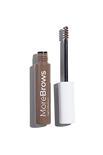 (MODELCO More Brows Fiber Gel Eyebrow Makeup (Light to Medium) )