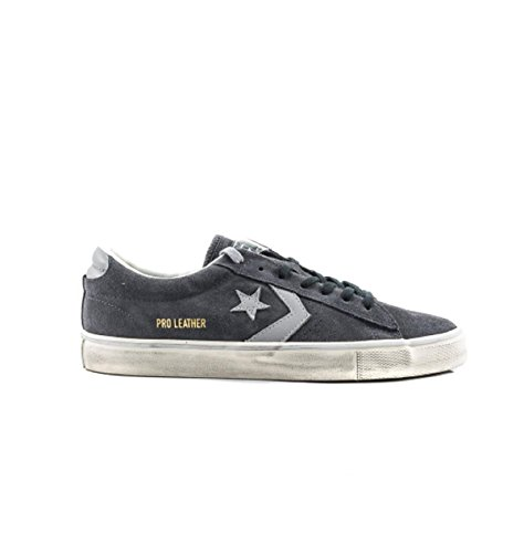 Grey Distressed Vulc 158941c Sneaker Uomo Scarpa Ox Pro Fw Converse Leather 18 17 xwTqzgORU