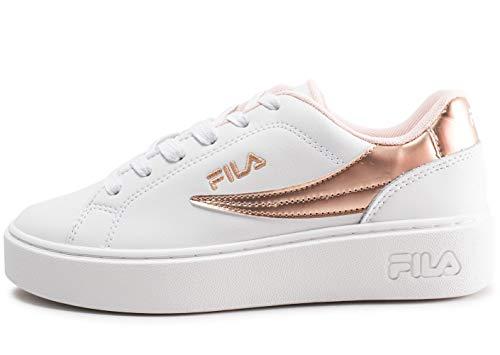 F Overstate Fila Sneaker Wmn White Low 4wFqqEg