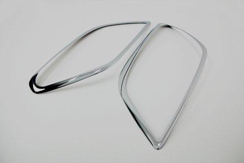 Zubeh/ör f/ür Chevrolet Orlando Chrom Scheinwerfer Rahmen Abdeckung Tuning Scheinwerferrahmen Head Lamp Molding