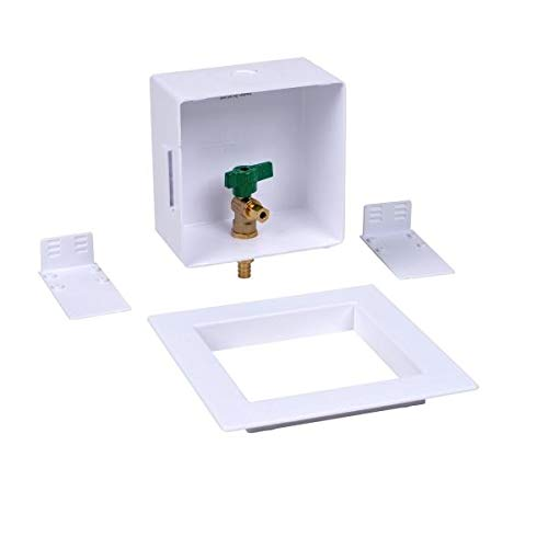 Oatey 39158 Pack of 6 pcs Square F1807 Low Lead Ice Maker Outlet Box w//o Hammer