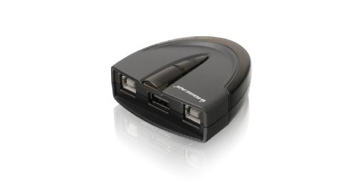 (IOGEAR 2-Port USB 2.0 Automatic Printer Switch,  GUB231)