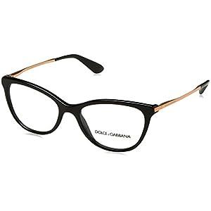 Dolce&Gabbana DG3258 Eyeglass Frames 501-54 - Black DG3258-501-54