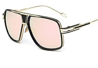 Amazon.com: sunglasses 615 retro big box couple frog