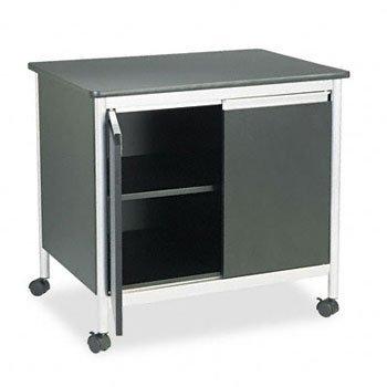 Deluxe Steel Machine Stand (Safeco Deluxe Steel Machine Stand, 1-Shelf, 32 x 24-1/2 x 30-1/8, Black, EA - SAF1872BL)