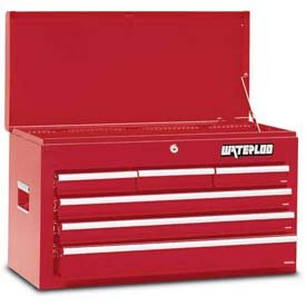 Waterloo WCH-266RD 26 Tool Chest with Ball Bearing Slides, Red