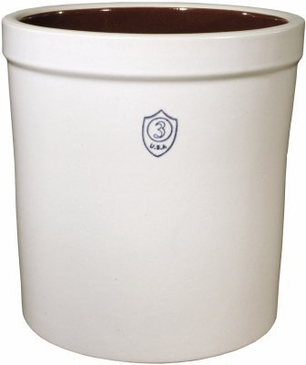 Ohio Stoneware 02443 Preserving Crock, 3-Gal. - Quantity 1