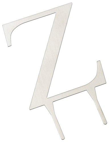 - Weddingstar 3 Inch H Brushed Silver Monogram - Letter