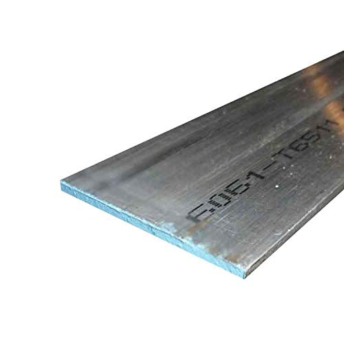 Online Metal Supply 6061 Aluminum Rectangle Bar 0.125 x 2 x 36