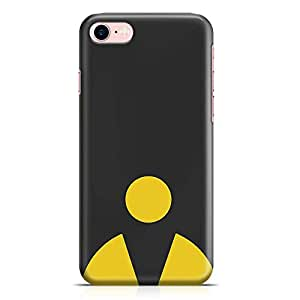 Loud Universe Gaming Minimal iPhone 8 Case Retro Game Pacman iPhone 8 Cover with 3d Wrap around Edges