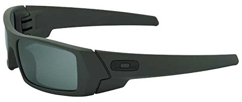 Oakley - Gas Can - Mil Spec Green SI Frame-Black Iridium - Cans Oakley Gas