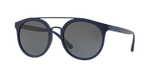 Burberry BE4245 364487 Matte Blue BE4245 Round Sunglasses Lens Category 3 - Sunglasses Round Burberry