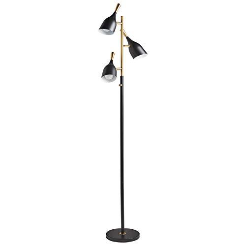文艺又好用的落地灯,让家不一样!中世纪现代风3头落地灯
