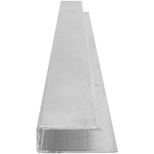 Aluminum U-Profile - 8'L - Glazing Polycarbonate Greenhouse