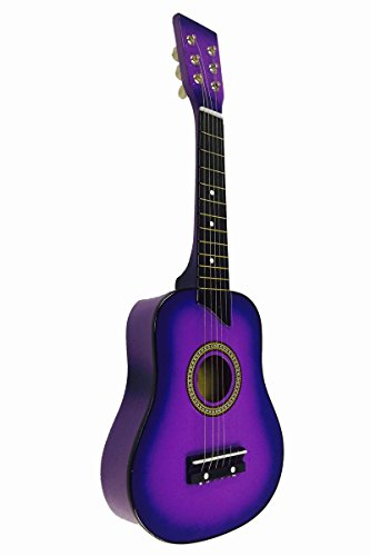 Toy Guitars. Toys. Pretend Play & Dress Up. Kids Instruments. Acoustic Classic Rock 'N' Roll 6 Stringed Toy Guitar Musical Instrument w/ Guitar Pick, Extra Guitar String (Purple) Product Image. Best Choice Products Kids Electric Guitar Star Toy Play Set w/ 6 Demo Tunes, Microphone, Wireless Amp, AUX - White. Product Image.