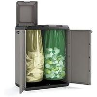 Keter 9736000 Split Cabinet Recycling