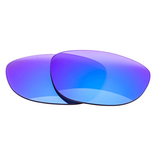 LenzFlip Replacement Lenses for Ray Ban Wayfarer RB2140 54mm - Gray Polarized with Blue - Blue Rb2140