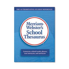 ** School Thesaurus, Grades 9-11, Hardcover, 704 Pages **
