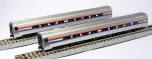Passenger Set Amfleet - Kato USA Model Train Products Amfleet II Phase III Car Set A, Set of 2