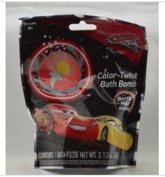 Pixar Cars 3 Color Twist Bath Bomb