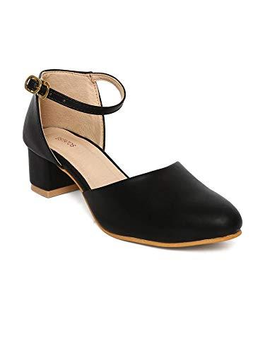 Buy ESTATOS Broad Toe Black Comfortable