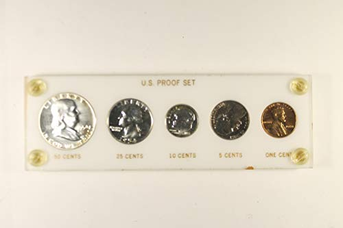 1954 US Mint Proof Set *Plastic Holder* - 1954 Us Mint Set Proof