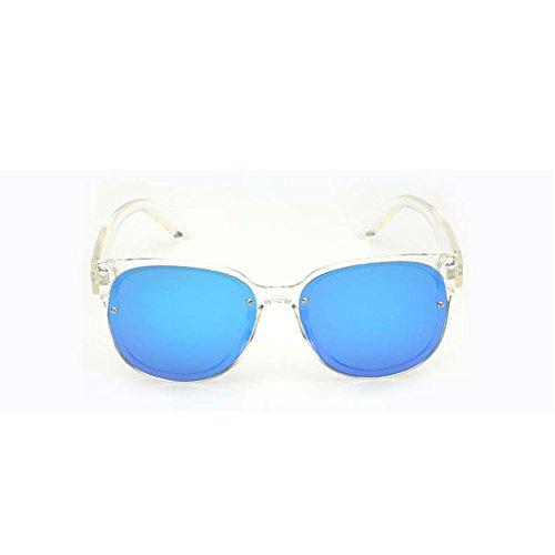 Sol Sol de 1 de Retro Sol Gafas Gafas Gafas Redondas de ovales DT Transparentes de Color polarizadas 3 Gafas Sol ZqA4xfUw