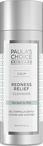 Paula's Choice CALM Redness Relief Cleanser with Aloe, 6.7 Oz Bottle, Face Wash for Oily and Combination Sensitive Skin