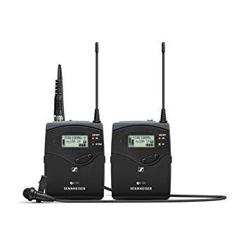 Sennheiser EW 112P G4 - A Omni-directional Wireless Lavalier Microphone System