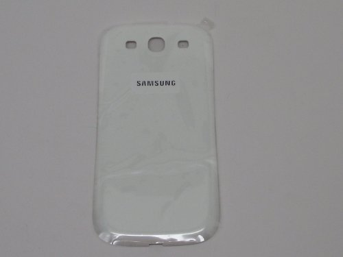 Battery Back Door Replacement for Samsung Galaxy S III S3 i9300 - Marble White (Cell Phone Samsung S3 I9300)