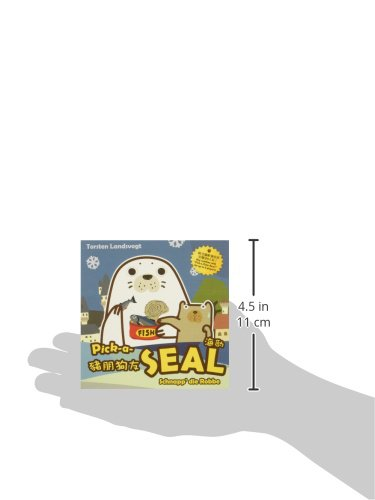 Eagle-Gryphon Games Pick-A-Seal Basic Card Game Flat River Group 101472