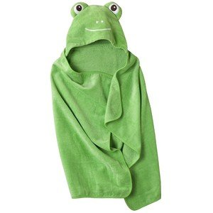 Circo Hooded Green Frog Bath Towel Child Size 100% Cotton Cute Duck from Circo