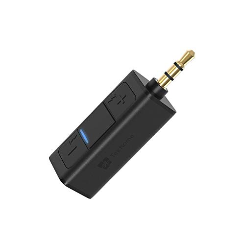 Bluetooth Aux Adapter, Bluetooth Auxiliary Adapter for Car, Aux to Bluetooth 4.2, 3.5mm Mini Bluetooth Receiver, Bluetooth Headphone Jack, TekHome Wireless Dongle Connector Converter for Home Stereo. (Dock Connector Fm Transmitter)