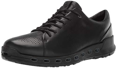 ECCO Men's Cool 2.0 Leather Gore-TEX Sneaker Black Retro 45 M EU (11-11.5 US)