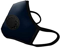 VMCV Vogmasks contain a microfiber inner and outer layer, 95%+ particle filtering media, carbon filter, and one exhalation valve for facilitating exit of moisture and CO2 from the interior of the mask. Trim and ear loops are made with latex-f...