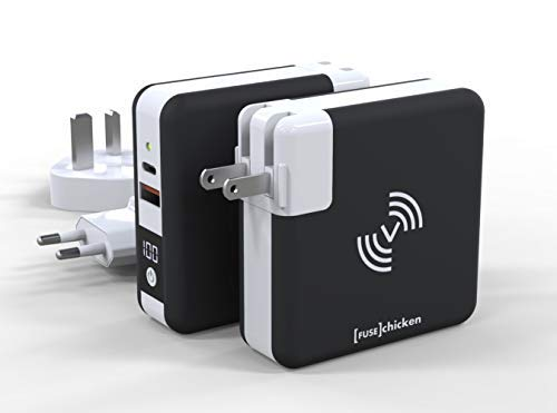Fuse Chicken Universal | All-in-One World Travel Charger, Powerbank, Wireless Charger